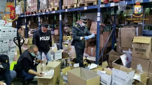 Sequestrate 5mila confezioni gel igienizzante non conforme