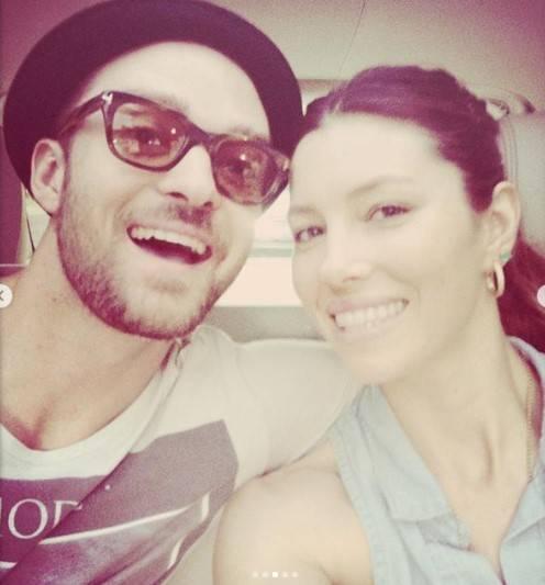 Justin Timberlake e Jessica Biel, le immagini di coppia 4