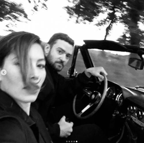 Justin Timberlake e Jessica Biel, le immagini di coppia 5