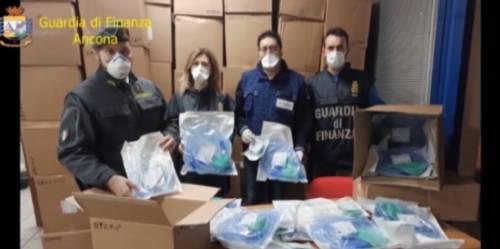 Maxisequestro di ventilatori per la terapia intensiva: stavano lasciando l'Italia
