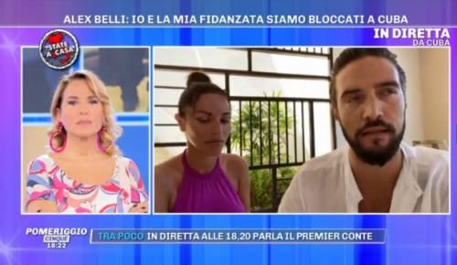 """Coronavirus, Alex Belli e Delia Duran bloccati a Cuba: """"Pochi voli e molto costosi"""""""