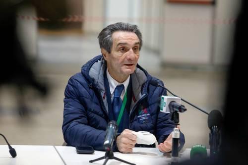"""Fontana: """"In Lombardia la linea dei contagi non è pi&"""