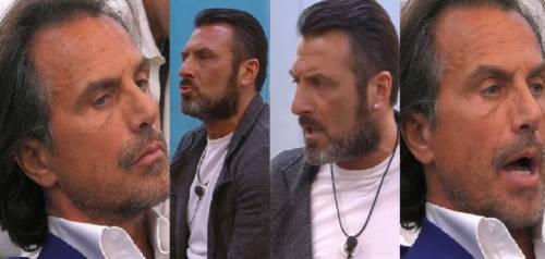 """Gf vip, Sossio Aruta all'attacco di Antonio Zequila: """"Meglio 'lo slippino' che 'Er mutanda'!"""""""