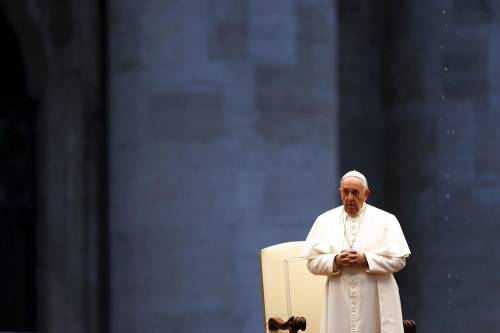 """Il Papa parla agli italiani """"Fate un gesto di tenerezza a ch"""