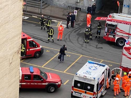 Milano, incendio questa mattina al Palazzo di Giustizia