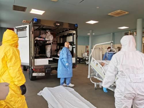 Gli Alpini impiegati in Piemonte per il trasporto dei pazienti 6