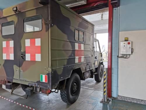 Gli Alpini impiegati in Piemonte per il trasporto dei pazienti 8