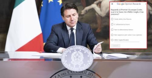 Crolla la fiducia nel governo: italiani sempre più delusi da Conte
