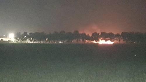 Borgo Mezzanone, incendio nel ghetto degli immigrati