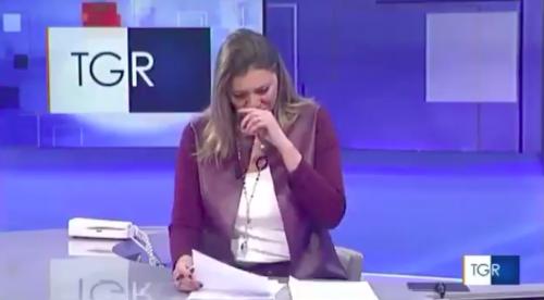 Diego muore a 3 anni, la giornalista scoppia in lacrime in diretta