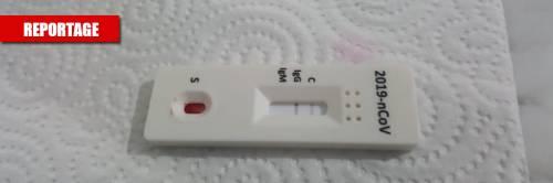 """""""Ci basta una goccia di sangue"""": così il test rapido trova il virus"""