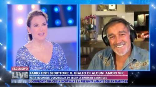 """Fabio Testi: """"La storia con Katia Ricciarelli? Non capisco perché neghi"""""""