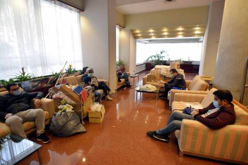 Milano, l'hotel Michelangelo riapre per la quarantena
