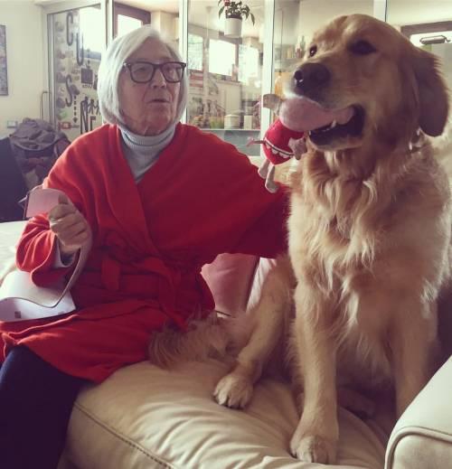 L'isolamento di Nonna Licia, influencer a 90 anni 5