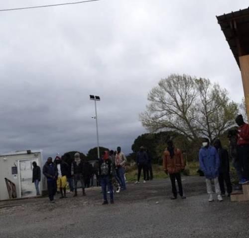 Protesta nella tendopoli di San Ferdinando  3