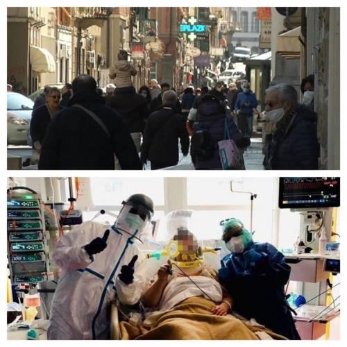 """A Genova la strada è piena di gente. Toti: """"Comportamento da idioti"""""""