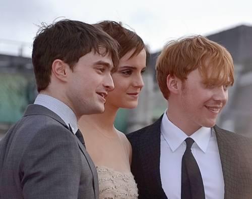 Quando Harry Potter baciò Hermione  e... Ron lasciò il set!