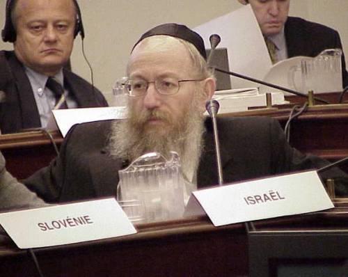 Virus, positivo il ministro della Salute israeliano Litzman