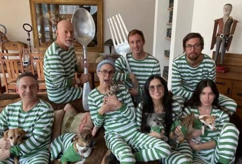 Demi Moore e le foto di famiglia