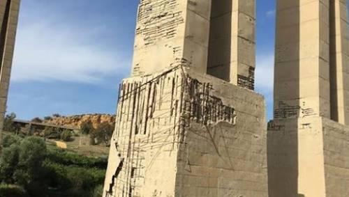 """""""Rischiano di crollare"""": sequestrati due cavalcavia in Sicilia"""