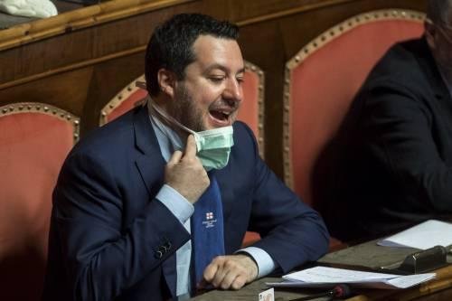 """Salvini: """"Fuori da Ue ed Euro? Europa non si è mai dimostrata solidale"""""""