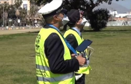 A Palermo arrivano i droni per controllare i furbetti di Pasqua e Pasquetta