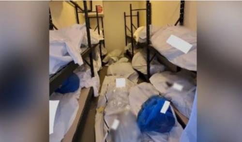 Detroit, ora spuntano le foto dei corpi chiusi in buste in ospedale