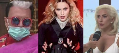 """Cristiano Malgioglio attacca Madonna e Lady Gaga: """"Nessuna solidarietà verso l'Italia"""""""