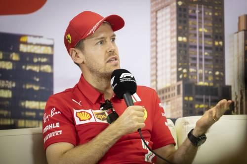 Vettel, l'ultimo Gp in Rosso e... in rosso