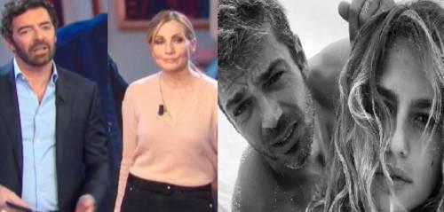 La gaffe della Cuccarini in tv. Ed è gelo con Argentero