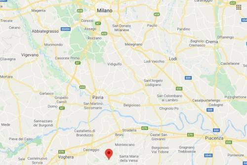 Terremoto nel Pavese: scossa di magnitudo 3.7