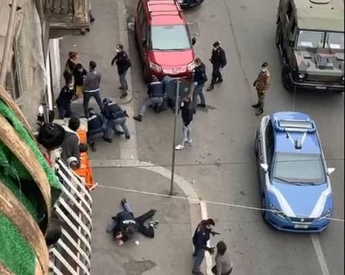 Antagonisti già pronti al blitz Sfida alla polizia per 25 aprile