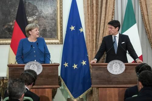 La telefonata Conte-Merkel: linea di fuoco per il governo