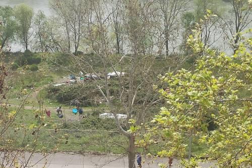 Discariche, roghi tossici e pic-nic: sul Lungotevere di Pietra Papa spunta una nuova favela 7