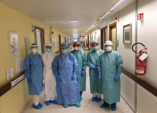 Foggia, le immagini del reparto Covid dell'ospedale Riuniti