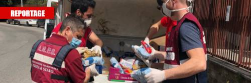 I nuovi poveri in fila per gli aiuti anche nei quartieri residenziali