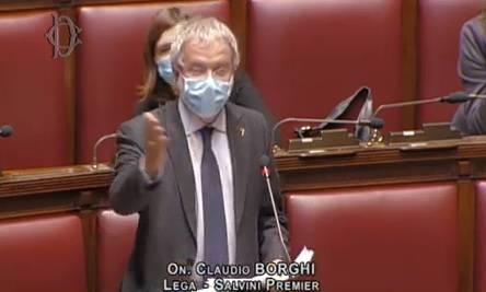 """Borghi contro Conte e Gualtieri: """"Sono come Fracchia e Pinocchio"""""""