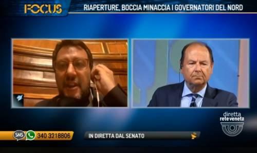 """Salvini: """"Eliminare autocertificazione, basta burocrazia"""""""