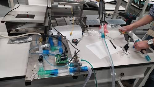 L'ingegno italiano nel progetto per il ventilatore meccanico low cost