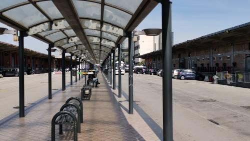 Napoli, il parcheggio dove è stata violentata l'infermiera  3