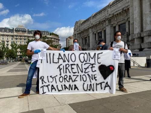 """Milano scende in piazza. Commercianti e tassisti: """"Ora lasciateci lavorare"""" 4"""