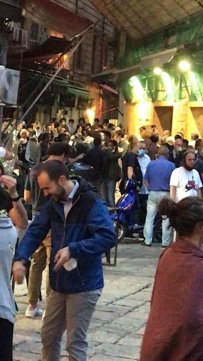 Alla Vucciria è subito folla nel primo giorno di riapertura 2