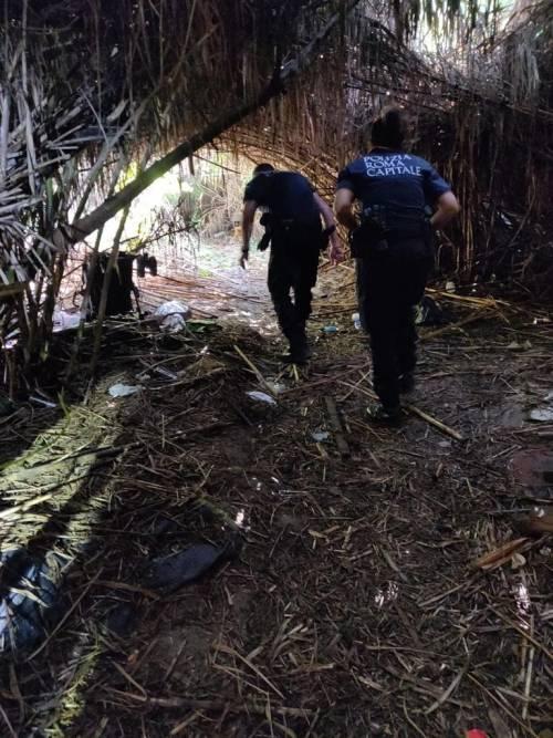Il blitz contro il traffico illecito di rifiuti nei campi rom 4