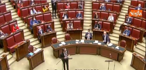 """Grillino accusa Lombardia, la Lega: """"Buffone!"""". Bagarre alla Camera"""