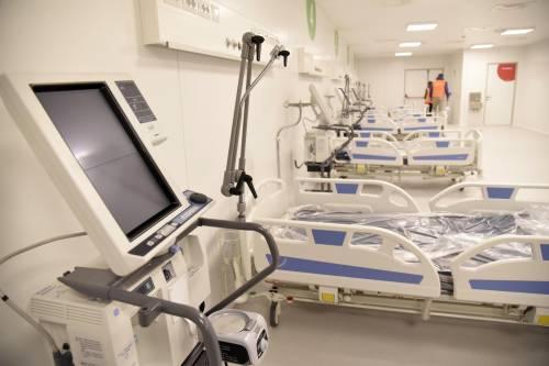 Macché spreco: l'Ospedale Fiera ha già accolto 50 pazienti
