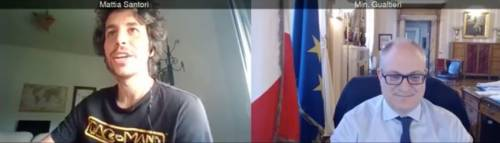 La sardina Santori fa lo spot al governo. Ma i numeri sono un disastro