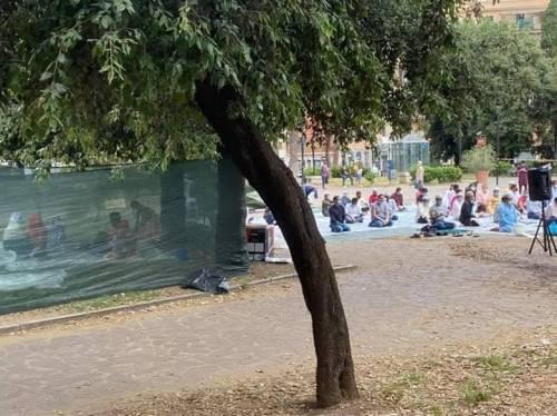 I musulmani invadono Roma per la fine del Ramadan