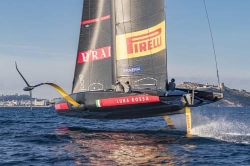 Un'avventura nel vento con l'Italia a bordo