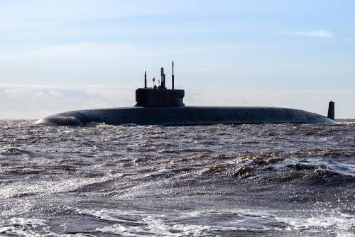 Russia, la Marina riceve il primo sottomarino classe Borei-A