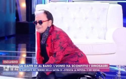 """Live, Cristiano Malgioglio cade dalla poltrona in diretta: """""""